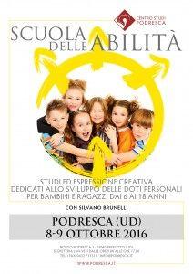 Percorso di studio per bambini e ragazzi con Silvano Brunelli