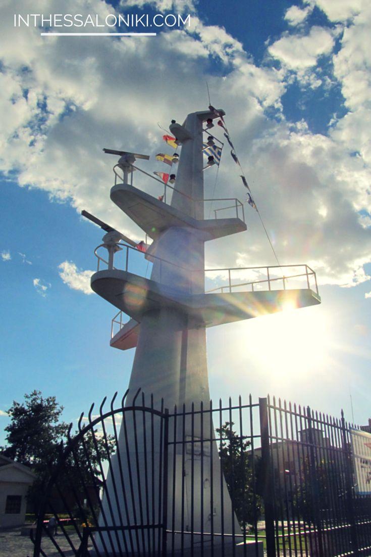 ● Monument in honor of the greek seamanship in #Thessaloniki, #Greece. ● Μνημείο προς τιμήν της ελληνικής ναυτοσύνης.