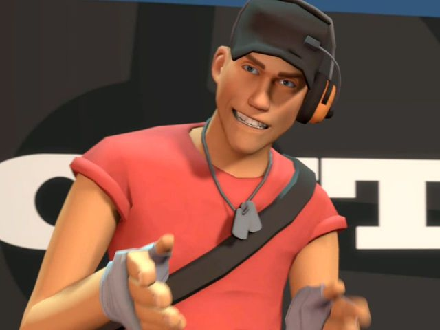 I got: Scout! What Team Fortress 2 Class Are You?