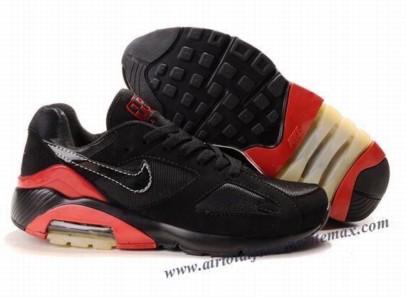 Nike Air Max 180 Black-Red 505016 008