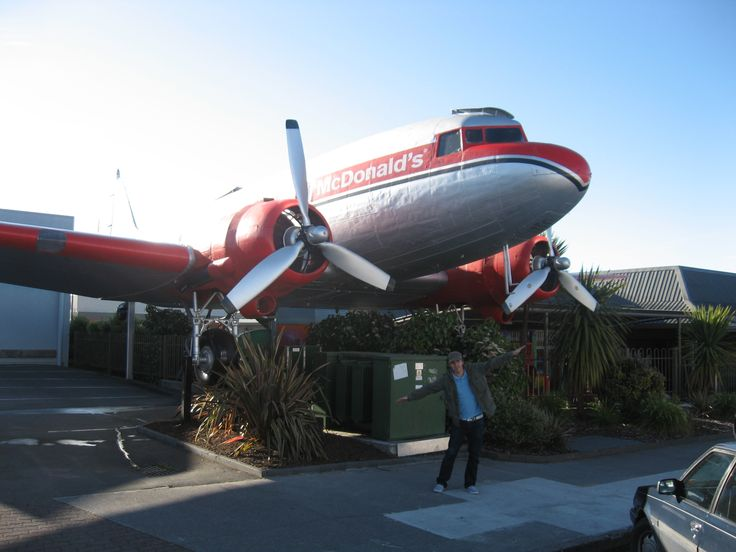 Mc Donalds airplane at Taupo, i found it funny and interesting