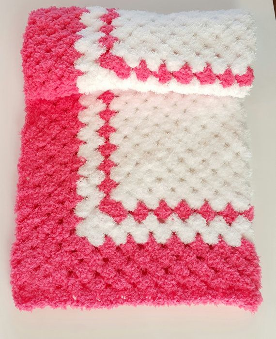 Check out this item in my Etsy shop https://www.etsy.com/listing/287803399/crochet-baby-blanket-pink-baby-blanket