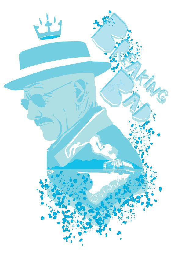 Breaking Bad Inspired Poster I AM the Danger by CuteStreakDesigns, $30.00