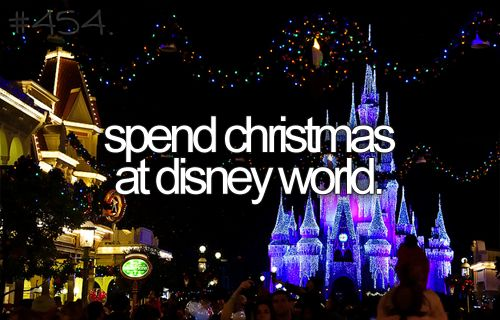 At least around Christmas