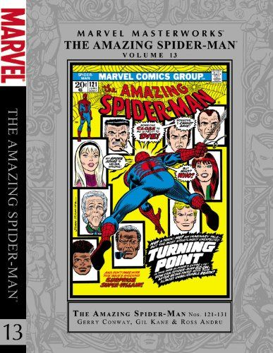 Marvel Masterworks: The Amazing Spider-Man - Volume 13 (Marvel Masterworks Presents) @ niftywarehouse.com #NiftyWarehouse #Spiderman #Marvel #ComicBooks #TheAvengers #Avengers #Comics