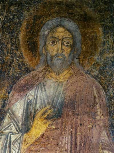 Святой Сила. Фреска придела апостолов Петра и Павла.
