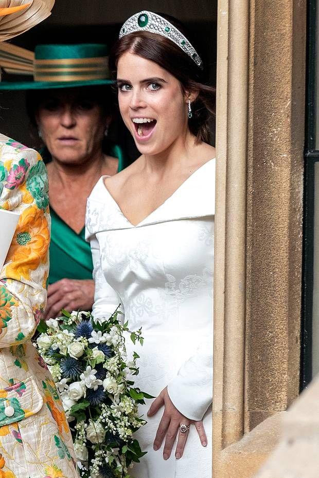 Die Schonsten Bilder Der Royalen Hochzeit Prinzessin Eugenie Royale Hochzeiten Konigliche Familie