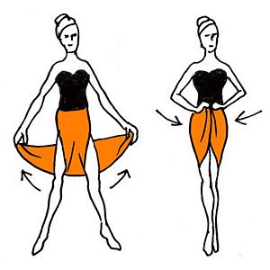 Πώς να φορέσετε το παρεό με 4+1 διαφορετικούς τρόπους