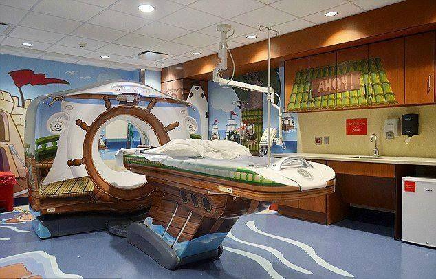 L'ospedale ridisegnato per i bambini. A New York.