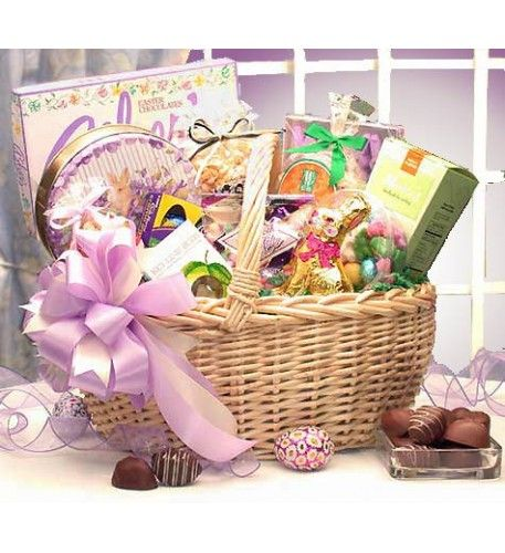 396 best easter gifts ideas images on pinterest easter gift all the sweet little somebunnies on your list will love this delicious easter gift basket filled negle Gallery