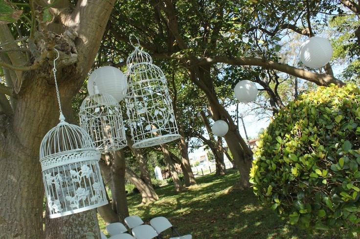 #birdcages #weddingceremony