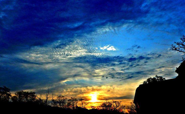 Sunset in Jim Corbett National Park - Ramnagar