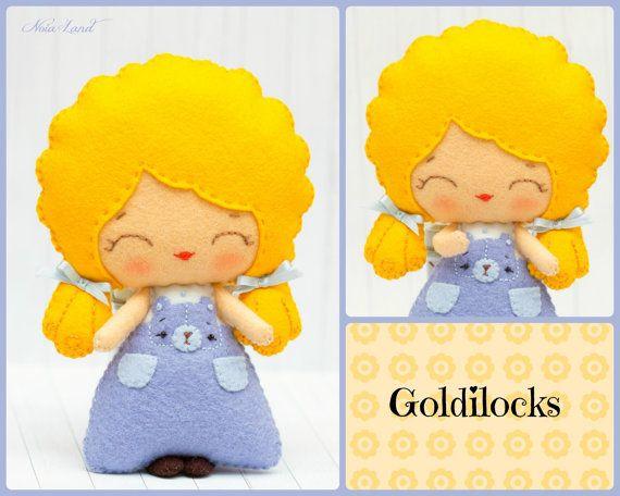 PDF. Goldilocks and the three bears. Fairy tale by Noialand