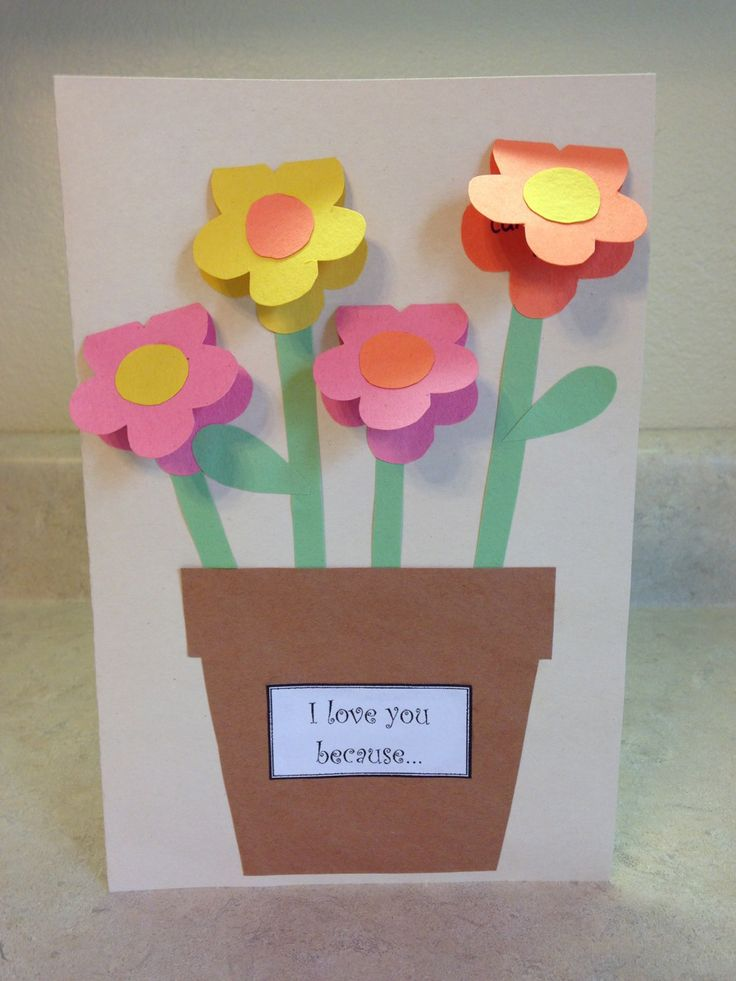 113 best mother 39 s day images on pinterest crafts for Mothers day cards from preschoolers