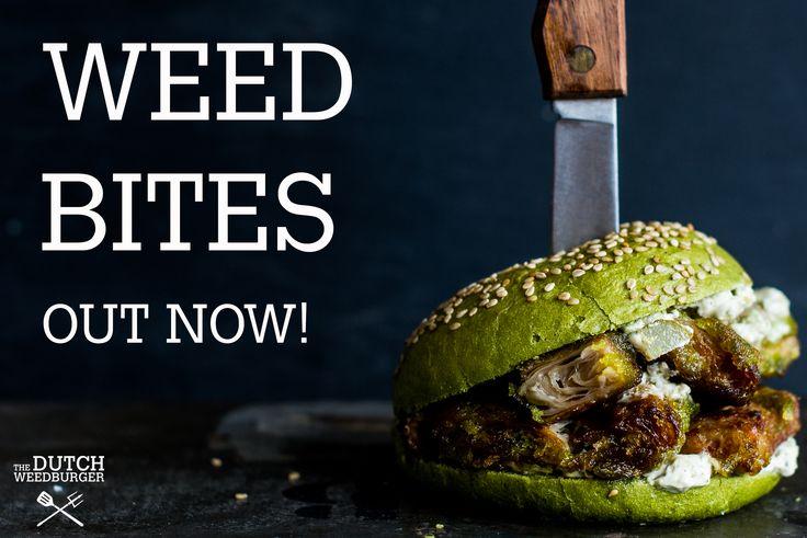 The Dutch Weed Bites, 100% vegan snack by The Dutch Weed Burger! #dutchweedburger #thedutchweedburger #vegan  #vegansnack #veganhamburger #veganburger #seaweed #weed #plantpower Pic by #lisettekreischer www.dutchweedburger.com/en