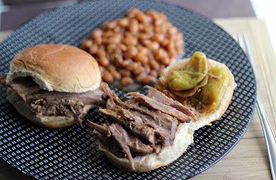 Slow Cooker Barbecue Brisket Sliders Recipes — Dishmaps