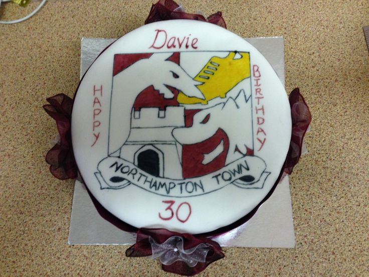 Northampton Town Football Club Cake