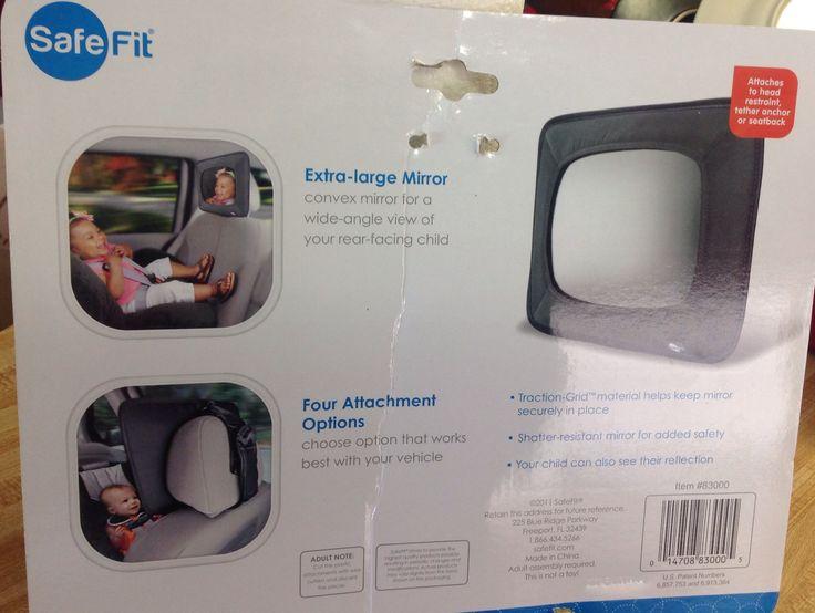 Espejo para poner en el carro usado para la cuna del bebe