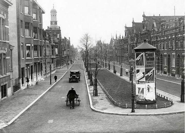 Avenue Concordia (kralingen) 1931