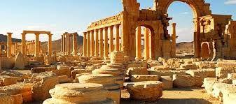 Resultado de imagem para fotos templo de palmira da siria