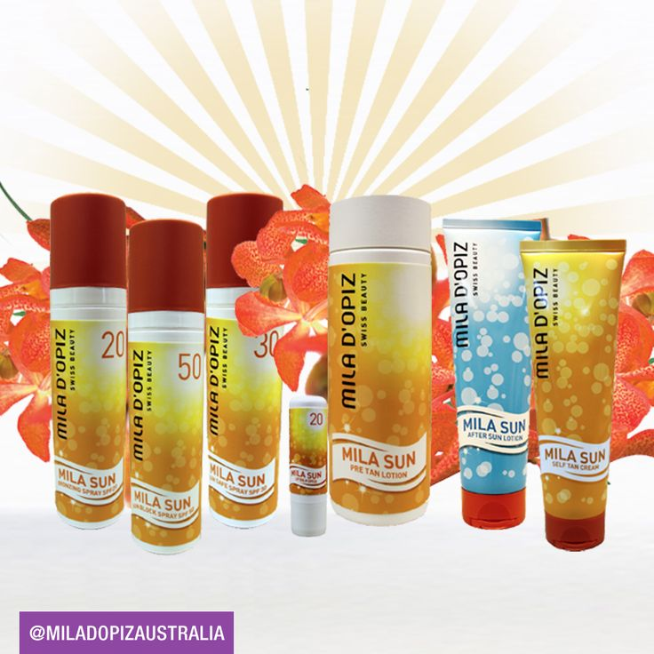 Introducing the new Mila Sun Range! This range is replacing our previous Sun Care line. The new Mila Sun Range has been developed in order to help our skin to achieve a more effective level of protection from UV-rays. Mila Sun is uncomplicated in its use and protects our skin in an even more effective way than before. It is designed for all those people who want to enjoy sun bathing, whilst giving their skin the best care and protection possible.
