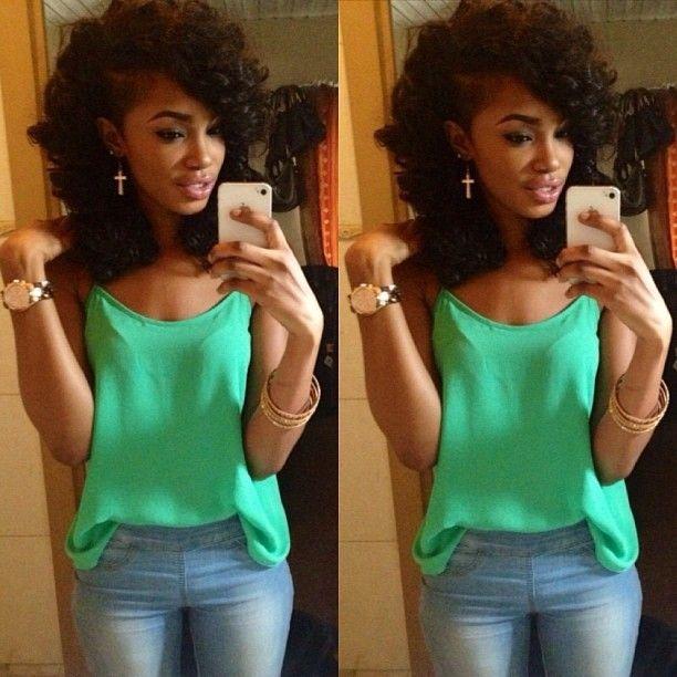 Strange 1000 Images About Shaved Sides Are Dope On Pinterest Short Hairstyles For Black Women Fulllsitofus