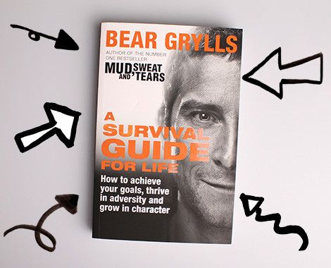 "bear grylls - a survival guide for life essay Bear grylls is no stranger to overcoming adversity in the wild, but in his new book – ""a survival guide for life"" – the tv adventurer shows us how his."