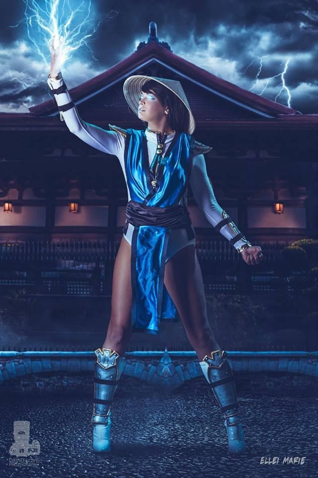 Cosplayer: Ellei Marie Character: Lady Raiden From: Mortal Kombat