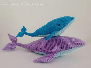 25+ best ideas about Crochet whale on Pinterest | Crochet ...