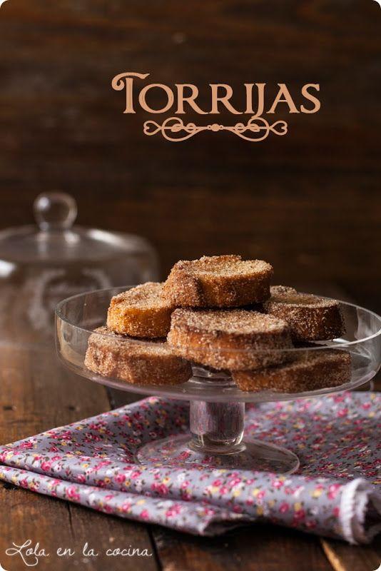 Lola en la cocina: Torrijas