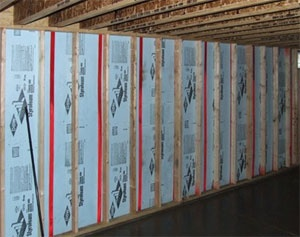 frame basement walls