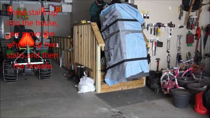Moving heavy items can be a pain in the back, or very costly, but we have done it pretty easy in the past and here again in this video with a used electric hand dolly.  Electric appliance dollys can be rented for 30-50 dollars a day and they can save your back.  Not all rental stores carry them but lots do and if used right they are a back saver.  AKA stair climbers or electric hand truck they are sometimes called.