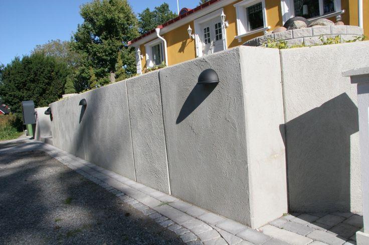 stödmur betong