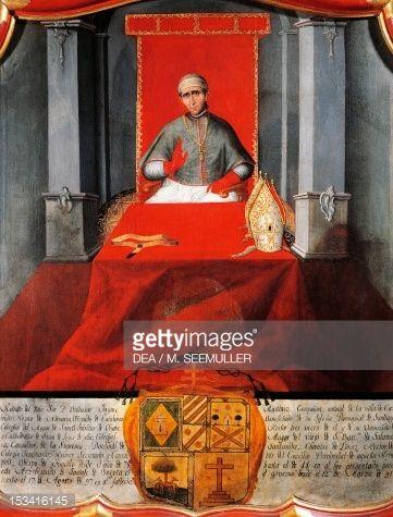 Fine art : Baltazar Martinez Companon (1737-1797), archbishop of Santa Fe de Bogota, Colombia, 18th century