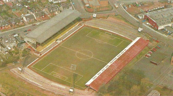 Fir Park, home of Motherwell FC.