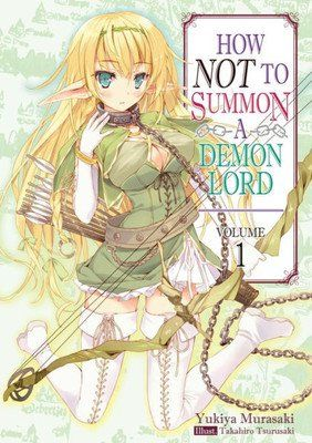 How NOT to Summon a Demon Lord Light Novels Get TV Anime