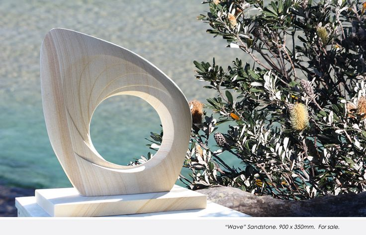 """""""Wave"""" Material: Sandstone Dimensions: 900 x 350mm. FOR SALE"""