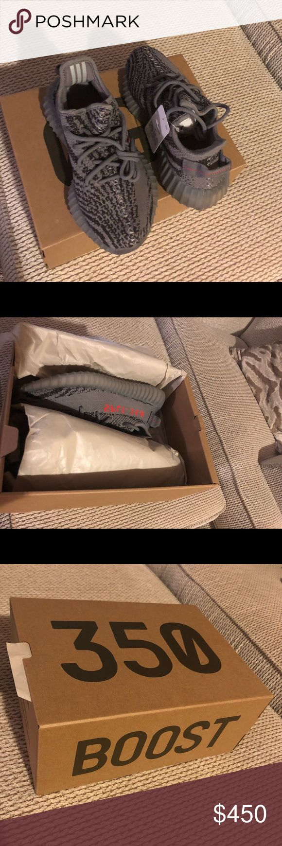 Adidas Yeezy Boost 350 Beluga 2.0 BRAND NEW  Adidas Yeezy Boost 350 Gray Size 5 (boys) Fits If u wear size 7 in women As you can see the price is $415, i am selling for $400 non-negotiable adidas Shoes Athletic Shoes