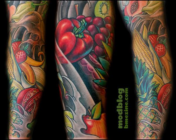 food tattoo