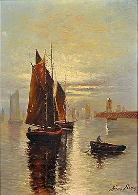 Xavier Sager - Quai de Seine