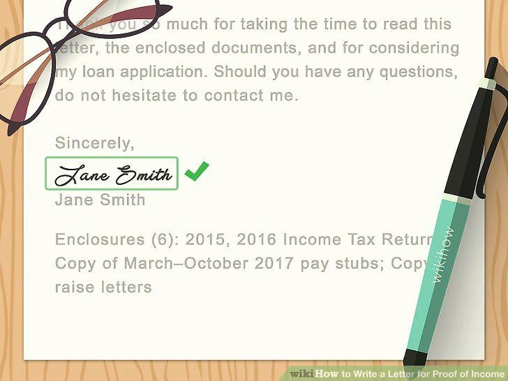 13+ Letter from employer showing proof of income ideas in 2021