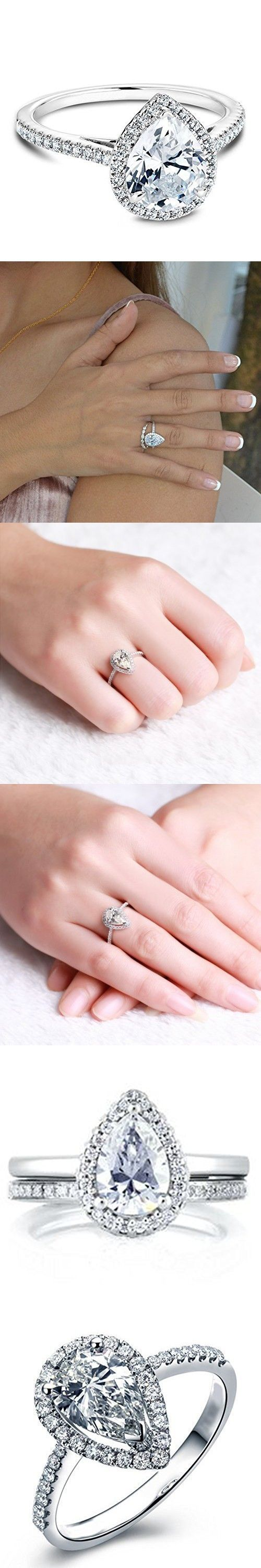 159 best solitaire engagement rings cushion images on Pinterest ...