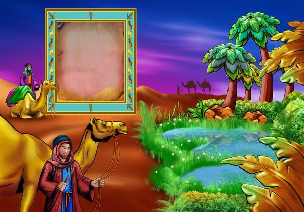 illustration for fairytale