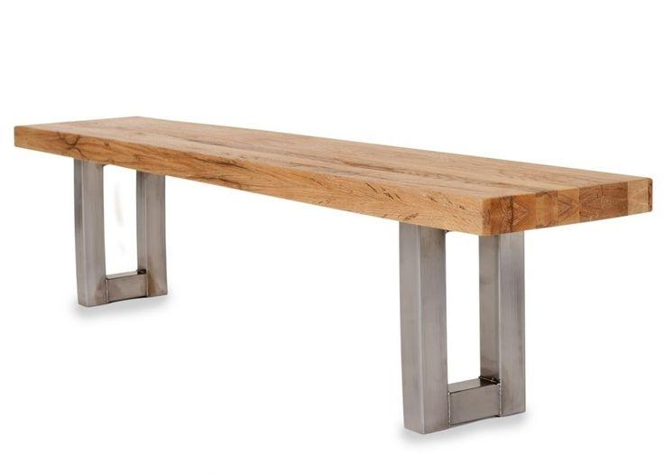 Sitzbank New York Holz Massiv Eiche Geölt 7693. Buy Now At Https://