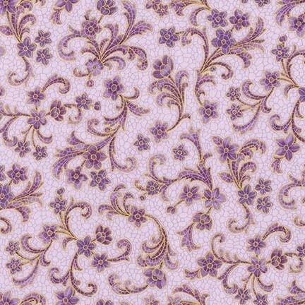 SRKM-17053-119 Villa Mauve Floral With glimpses of fine Romana Villas this fabric range takes us back to a time when beautiful tiled and mosaic buildings were seen in the upper echelons of society. From Robert Kaufman Studios the glazed tile effects mixed with vintage floral bring history to life. We have selected beautiful mosaics with multiple colours, greys, creams and mauves to provide a great selection for you next quilting project. In the traditional Robert Kaufman style these fabrics…