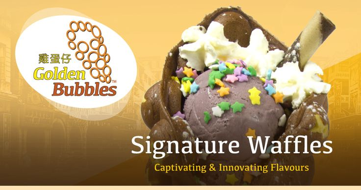 Bubble Waffle cafe new in Byward Market - 11 William St
