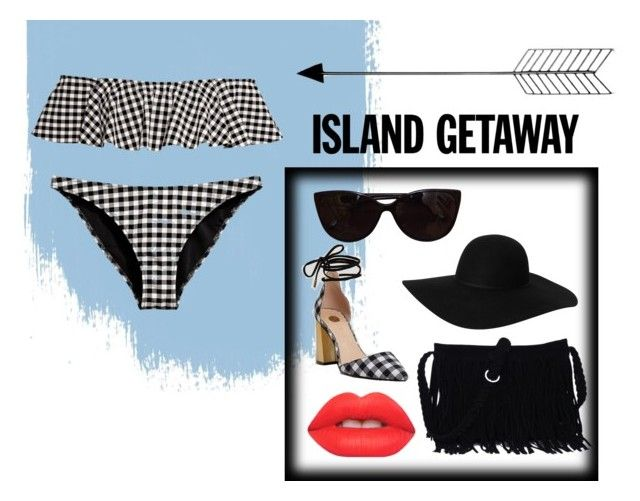 """""""Cute bathers"""" by harmzilly on Polyvore featuring Bend, Tiffany & Co., Monki, River Island and Lime Crime"""