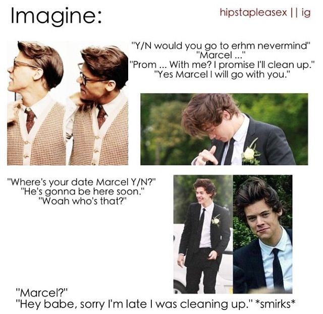 Marcel + imagine= Marcel feels that are uncontrolable. Help.