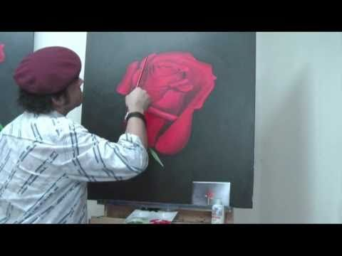 """Joe teaches you how to use an old masters technique with a Mont Marte twist. He will be painting a beautiful Rose in a Grisaille with Acrylic Paint    At Mont Marte we believe """"art should be available for everyone to enjoy"""" and that's what we set about doing.    Over the past 10 years with those words echoing in our ears we have expanded from a few ..."""