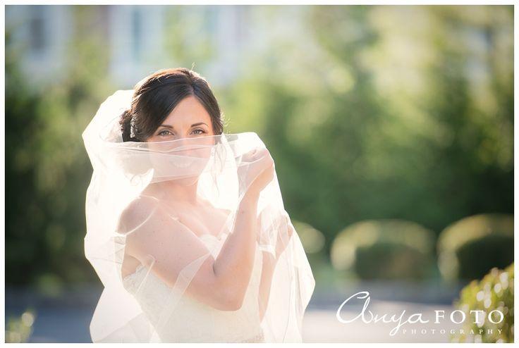 Bridal veil - AnyaFoto - NJ Wedding Photography